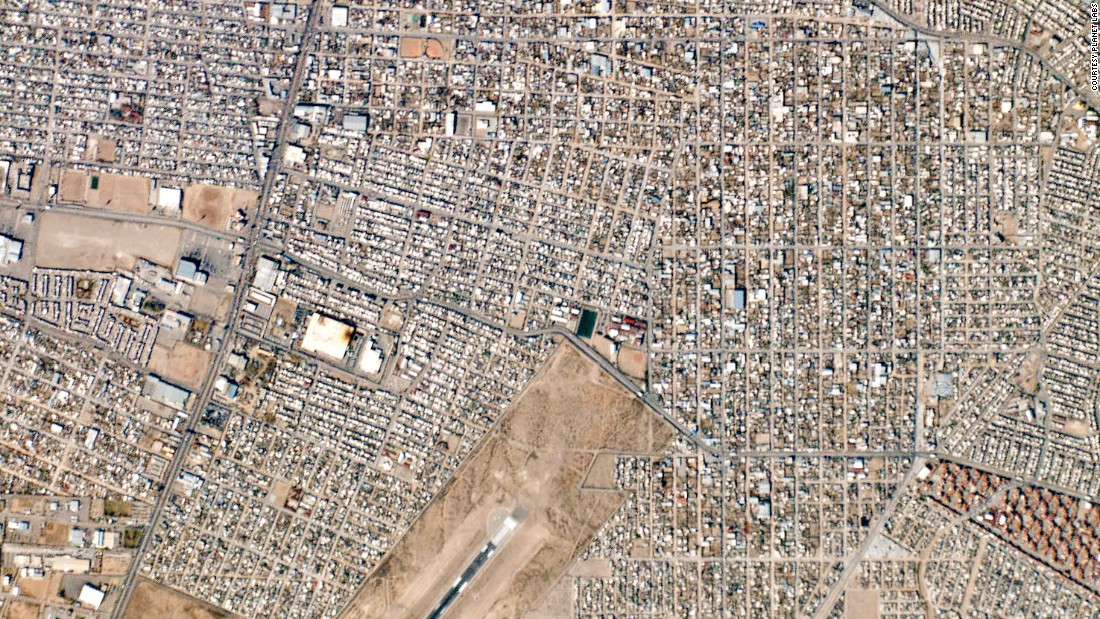 A view of Ciudad Juarez, Mexico.