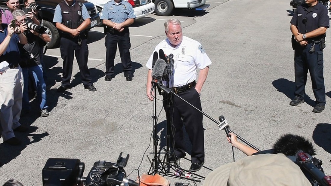 Ferguson police chief resigns, gets one year of pay