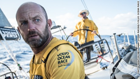 Ian Walker, Volvo Ocean Race skipper.