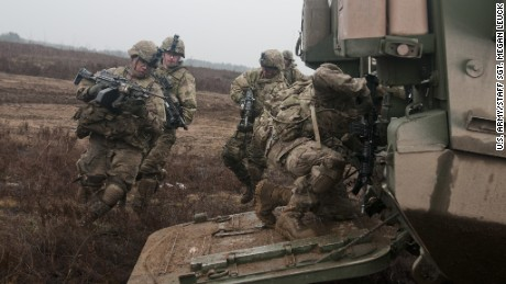 US troops heading to front of new Cold War with Putin
