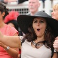 horse racing crowd reaction