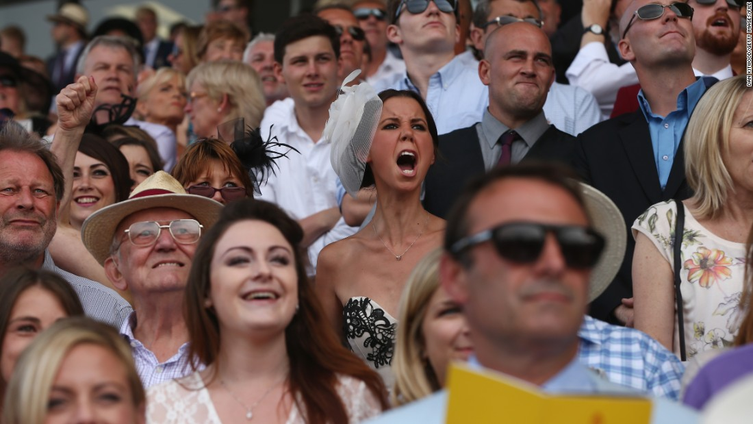 Ladies' Day at Goodwood Races is one of the most popular dates in the British racing calendar. But that doesn't mean ladies aren't to bellow.