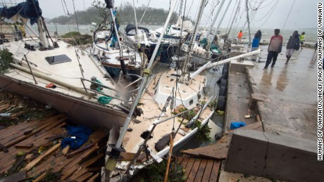 UNICEF: Storm was a 'terrifying' occurrence