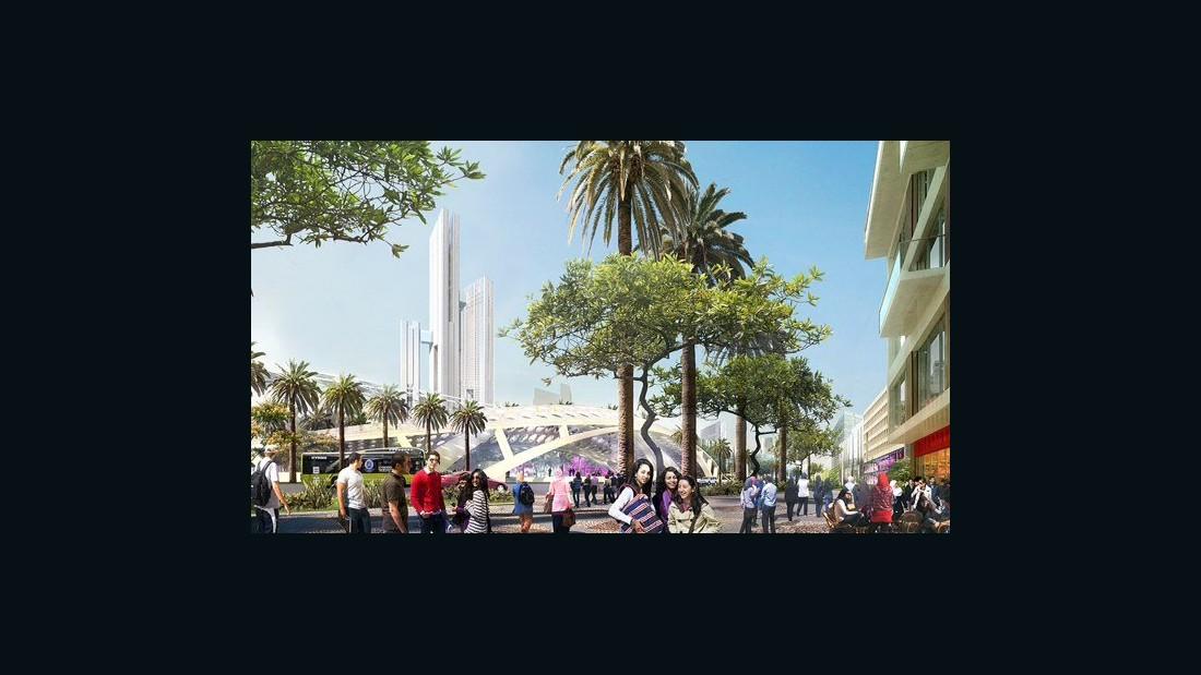 Egypt unveils plan to build glitzy new capital