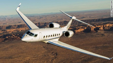 The Gulfstream G650 can fly eight passengers and four crew members, according to gulfstream.com.