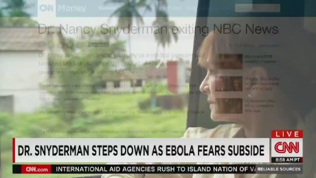 exp Snyderman steps down as Ebola fears subside_00000815
