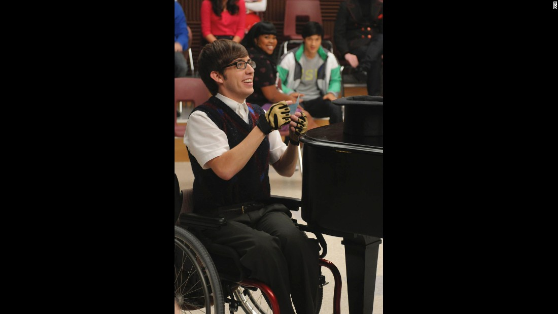 Kevin McHale brought a lot of heart to the wheelchair-bound Artie.