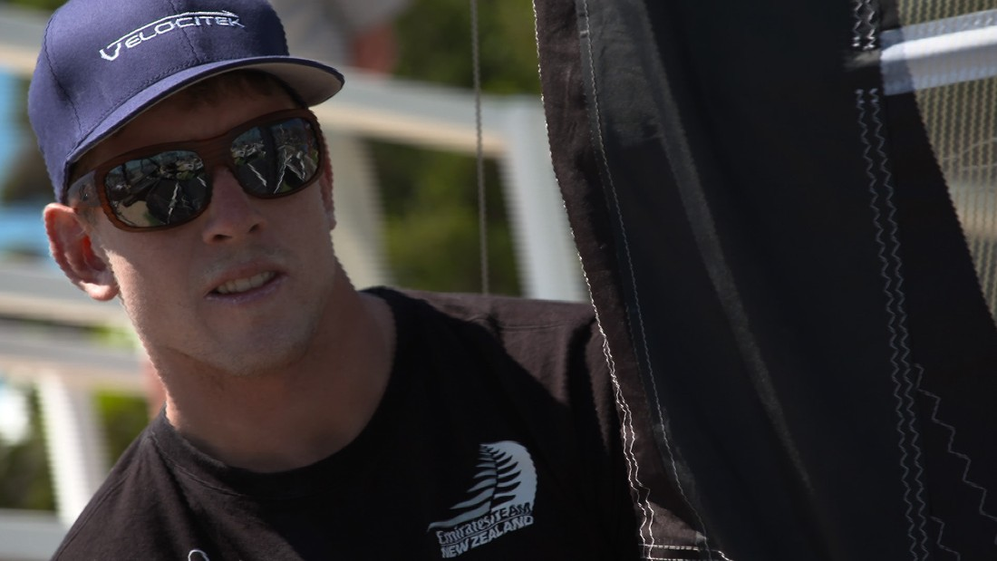 Peter Burling, recently appointed as Team New Zealand helmsman for the America's Cup, came out on top.