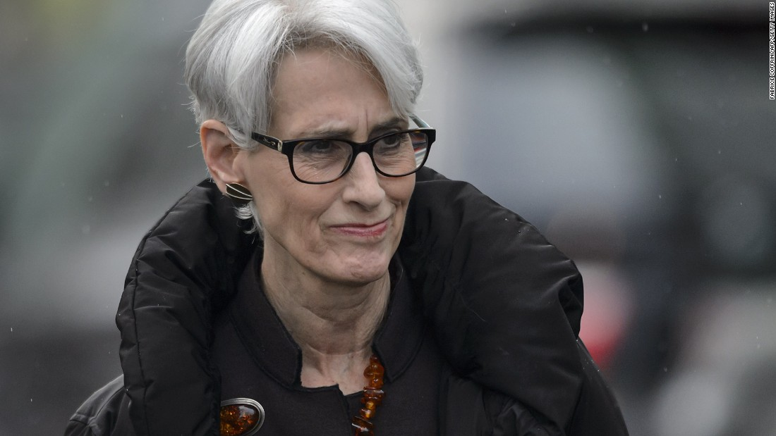 Wendy Sherman has been a key U.S. negotiator in the Iran talks. She is the under secretary of state for political affairs.