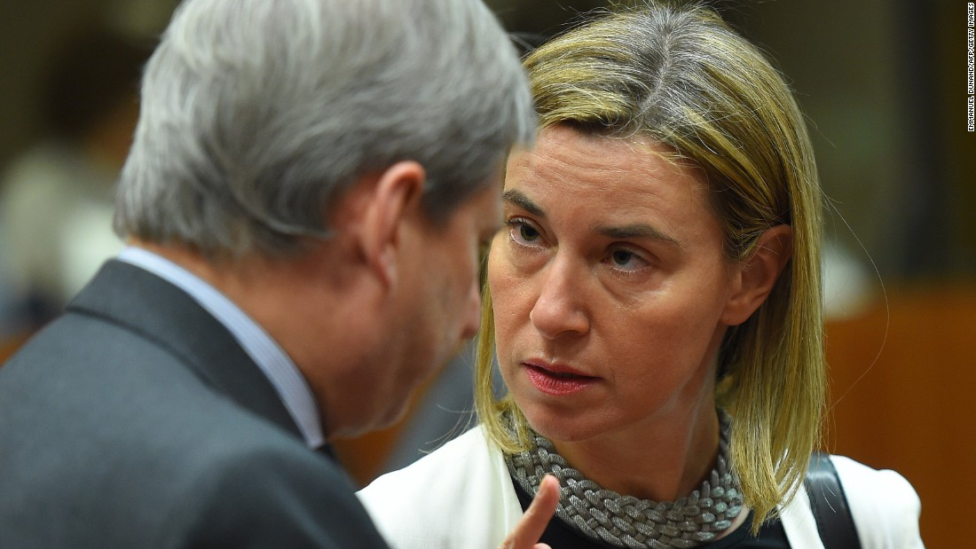 Federica Mogherini, foreign policy chief for the European Union, has been representing the Europeans in nuclear talks with Iran.