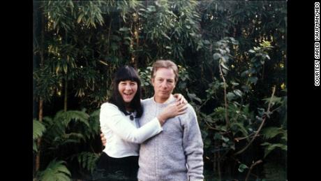Susan Berman and Robert Durst pose sometime in the mid- to late 1990s.