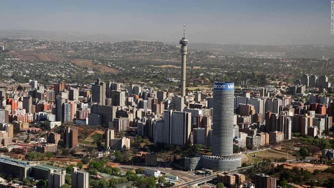 The commercial capital of South Africa has far more millionaires than any other African city. With 298 people with a net worth over $30 million, it's the city with the most ultra-rich individuals in Africa.