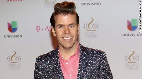 MIAMI, FL - FEBRUARY 19: Perez Hilton attends the 2015 Premios Lo Nuestros Awards at American Airlines Arena on February 19, 2015 in Miami, Florida. (Photo by Alexander Tamargo/Getty Images For Univision)