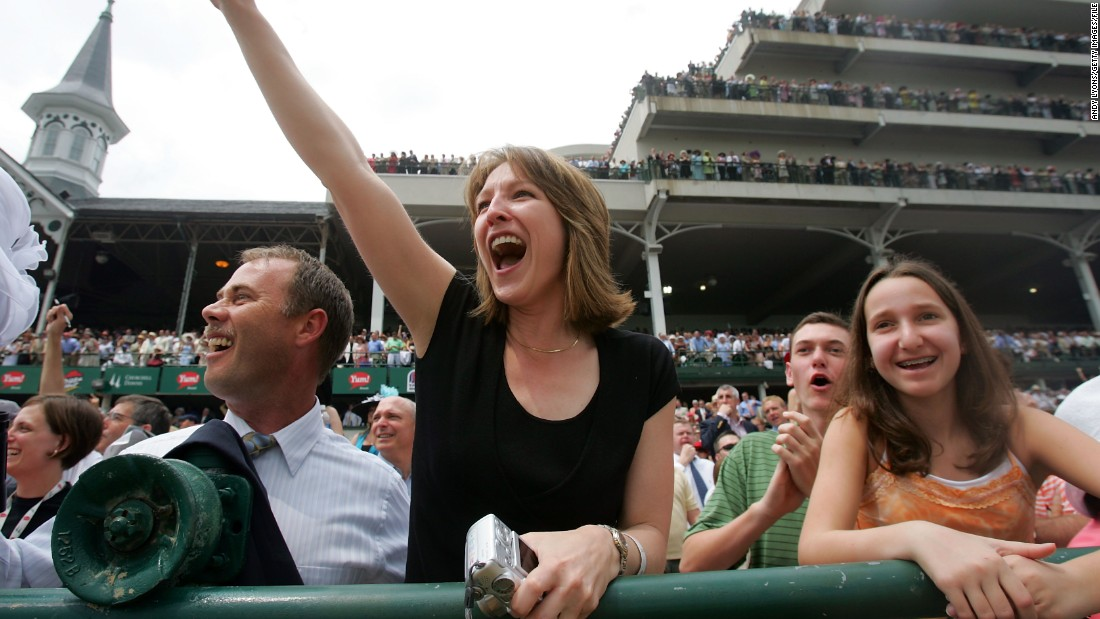 "The Kentucky Derby in Louisville has been described as ""the most exciting two minutes in sports."" A manageable amount of time, when you're constantly screaming."