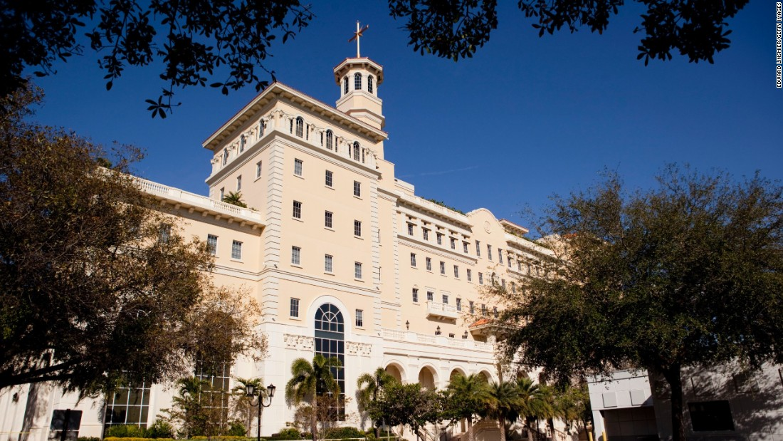 A headquarters for the Church of Scientology is seen in Clearwater, Florida, in January 2013.