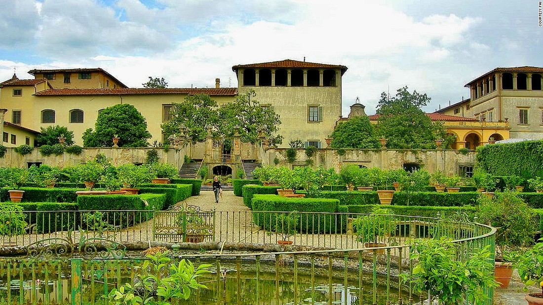 "Its name implies ""silence"" and ""peacefulness."" <br />One of Florence's most impressive convents, the villa features a spice and herb apothecary and a<em> </em>ragnaia<em> </em>maze of bushes where birds are snared using thin nets -- a traditional Tuscan practice that supplies pigeons for the dinner table. <br /><em>Via di Boldrone, 2, Florence</em><br />"