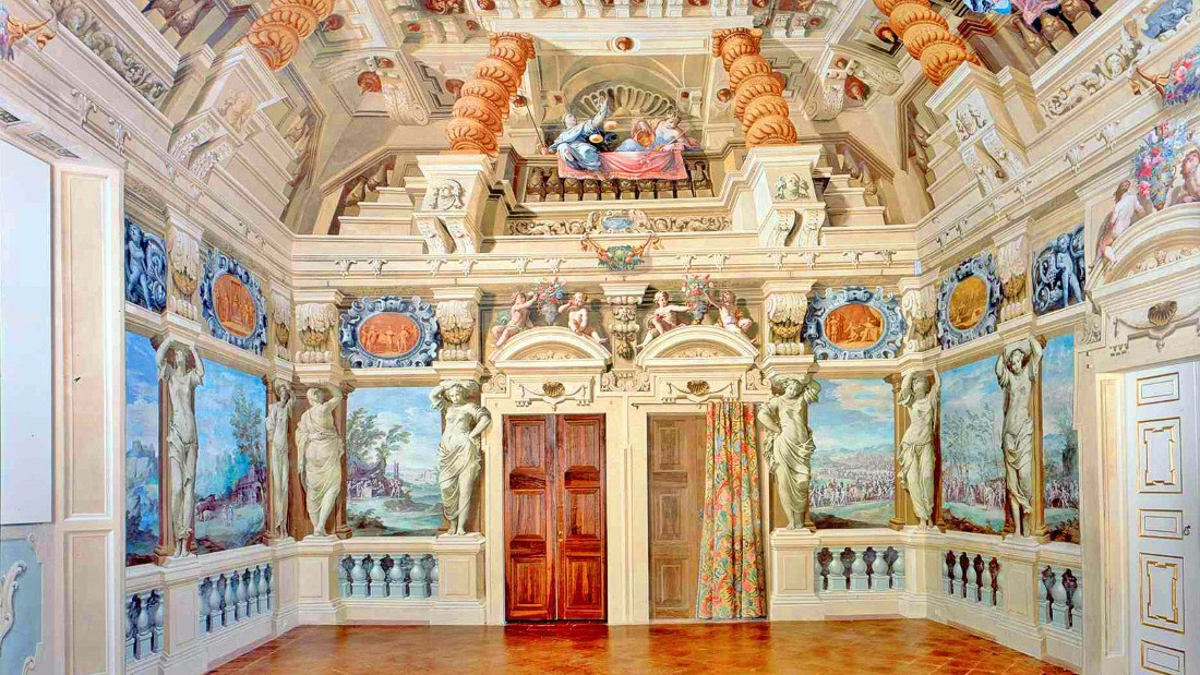 "This building once served as a summer residence and banqueting house for the Duke Francesco I of Este, who used it for lavish parties and masquerade balls. <br />Baroque splendors include stylish fountains and frescoed vaults and ceilings. <br />Visitors will be guided inside the famed ""Bacchus Gallery"" and through secret passageways used by courtesans and schemers.<em><br />Piazzale della Rosa, Sassuolo, Modena</em><br />"