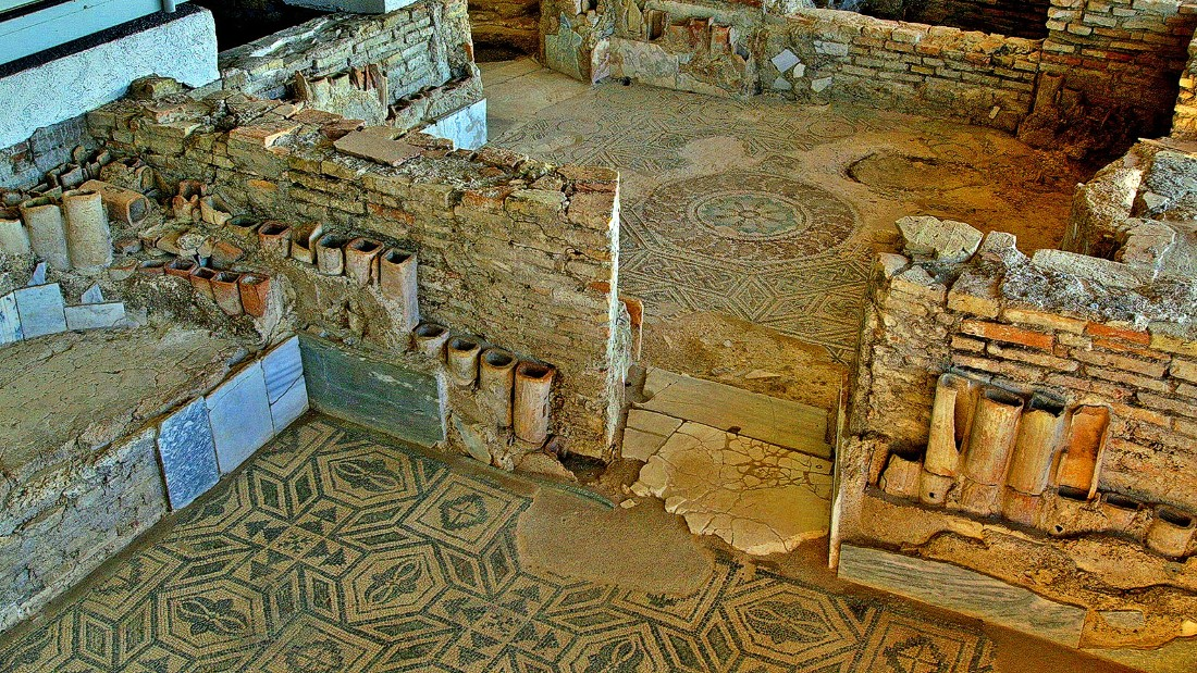 A 15-hectare Roman seaside retreat with amazing mosaics depicting the sea nymphs and a peculiar, Indian-style rendition of wine god Dionysus sitting on a cart drawn by tigers.<em><br />Contrada Palazzi SS 106 Ionica, Casignana, Reggio Calabria</em><br />