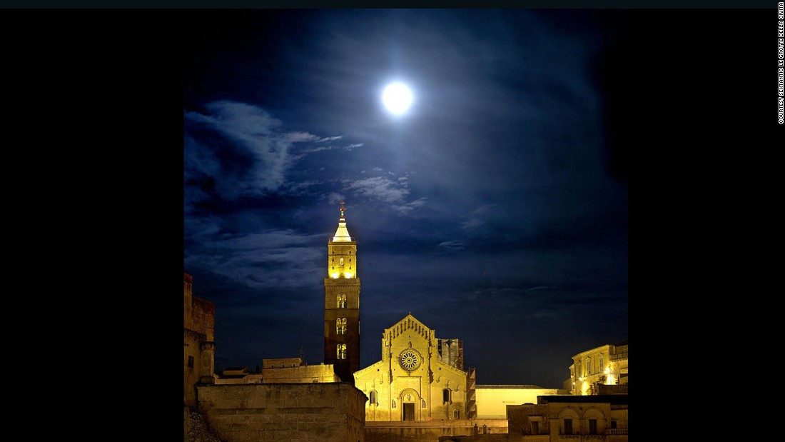 After 15 years of renovations, this grand medieval cathedral is worth seeing.<br />Matera, known for its cave-like stone dwellings, overlooks the Sassi ravine in southern Italy's Basilicata region, named Europe's 2019 Culture Capital.<em><br />Piazza Duomo, Matera</em>