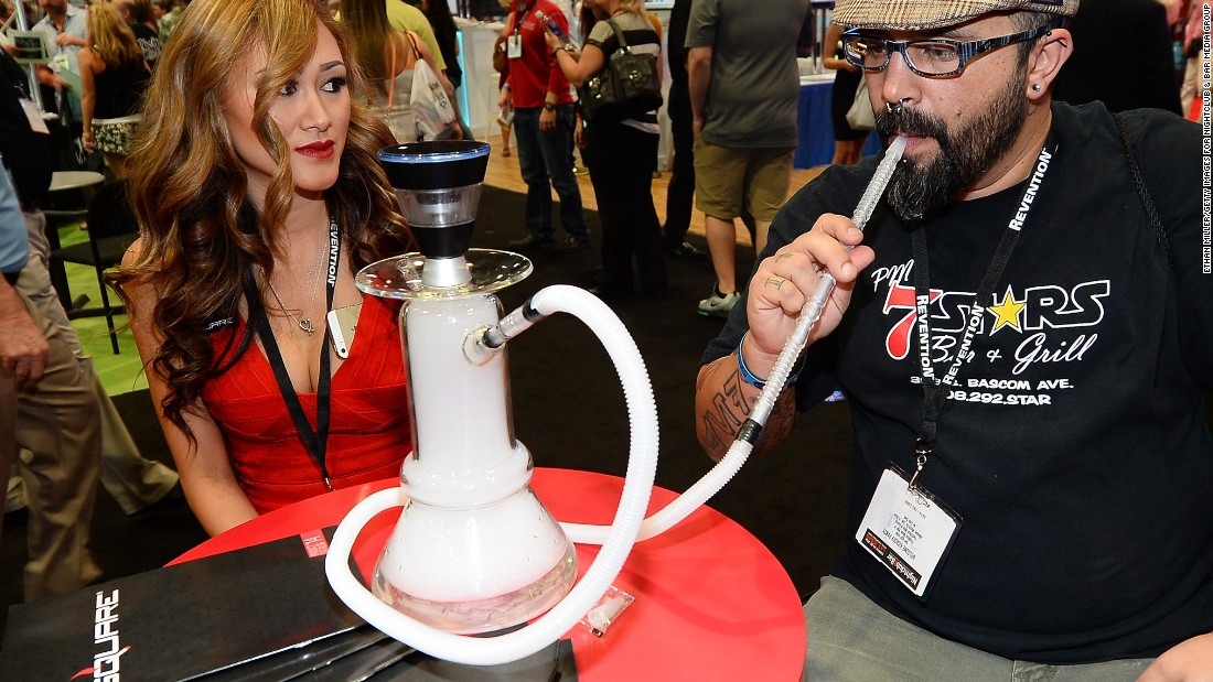 """Electronic nicotine delivery systems"" now take a variety of forms. E-hookahs have also been developed and have a strong cross-cultural market potential."