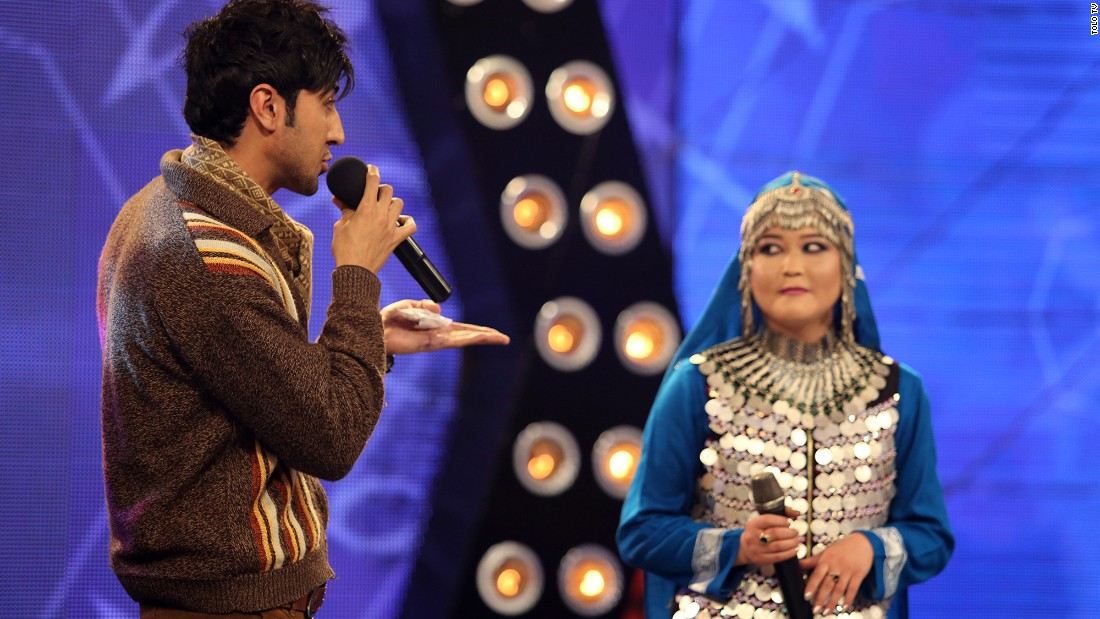 "In the popular television show ""Afghan Star"" -- the Afghanistan version of ""American Idol"" -- men and women can appear on stage together."