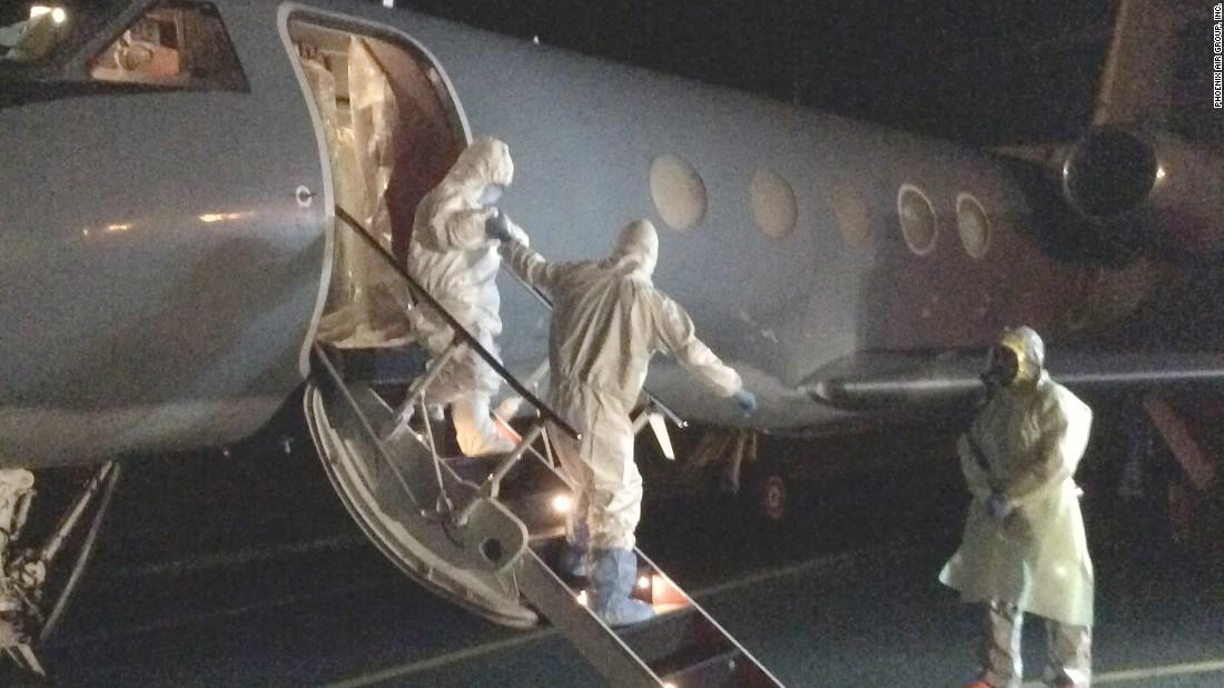 Ebola Air? Inside the plane that flies Ebola patients
