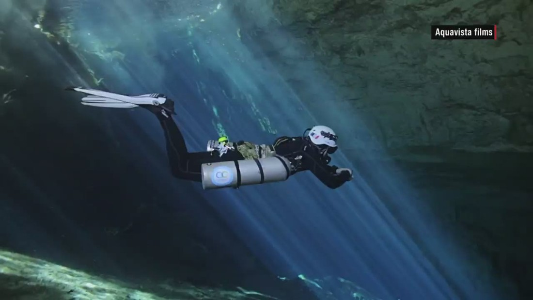 Divers discover underwater fossil graveyard