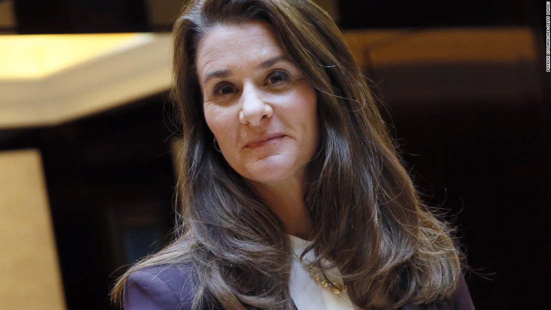 Melinda Gates' advice to girls: 'Use your voice and you can affect change'