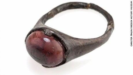"The researchers concluded the ring had ""never much been used."""