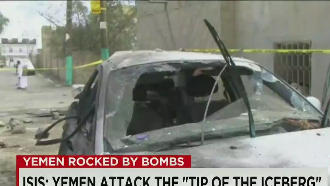 Yemen: Bombs kill 137 at mosques; ISIS purportedly lays claim