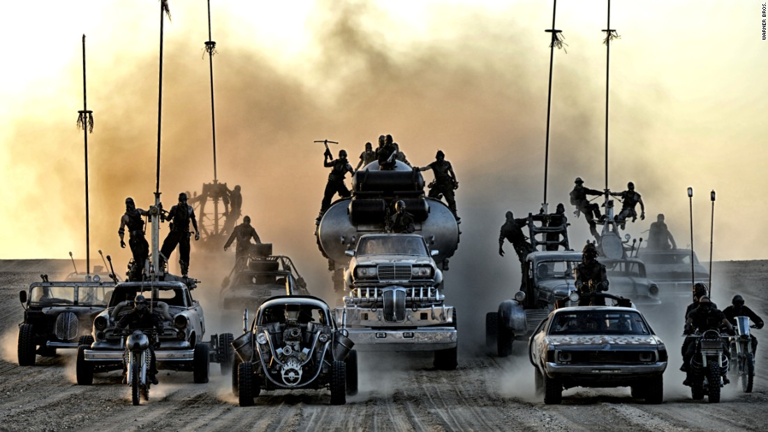 "Before there was ""The Fast and the Furious,"" there was ""Mad Max,"" a man racing cars through a post-apocalyptic landscape. (OK, so ""Fast's"" locales aren't post-apocalyptic ... yet.) The original films, including ""The Road Warrior,"" made a star of Mel Gibson. Now comes ""Mad Max: Fury Road,"" starring Tom Hardy in Gibson's role, as well as Charlize Theron. The film was directed and co-written by ""Max"" auteur George Miller. It opened May 15."
