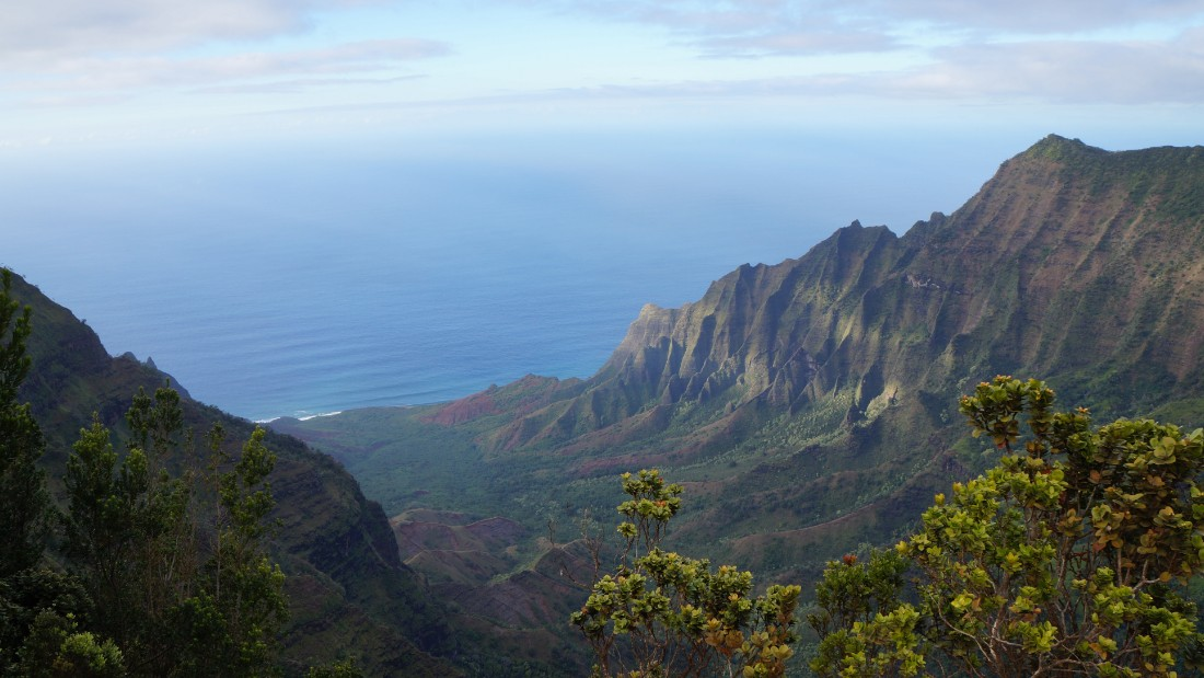 "<a href=""http://ireport.cnn.com/docs/DOC-1220270"">Nishani Kadidal </a>enjoyed the diverse and rugged hiking in Kauai during a January anniversary visit. ""When you think of islands, the first thing we all visualize is a beach. We discovered Kauai is so much more than just beautiful beaches."""