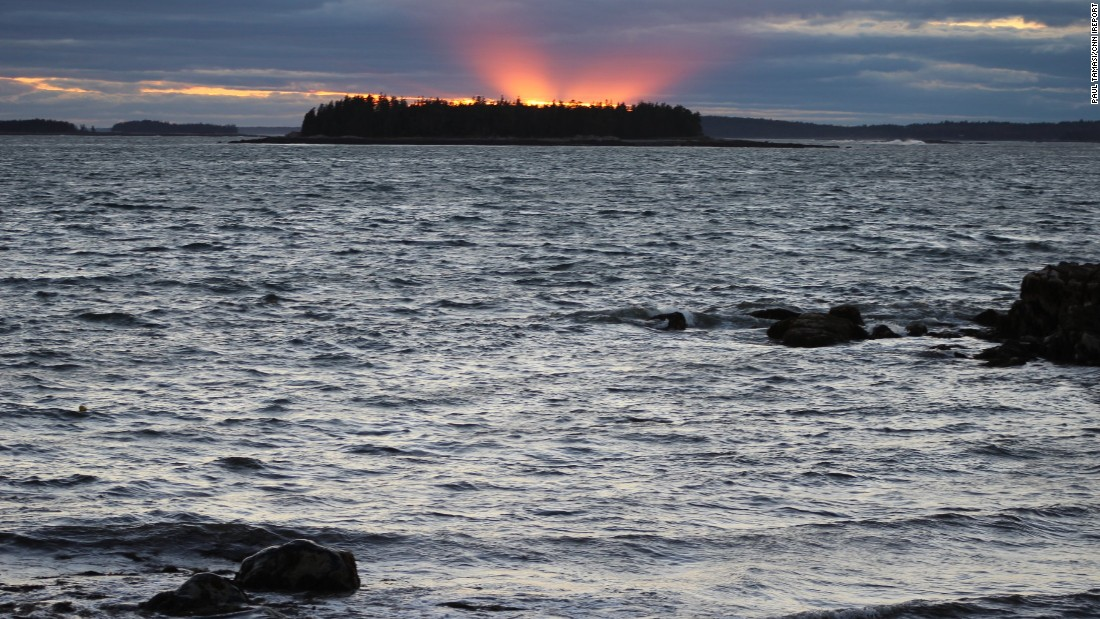 "Maine's Great Wass Island is a 1,576-acre <a href=""http://www.nature.org/ourinitiatives/regions/northamerica/unitedstates/maine/placesweprotect/great-wass-island.xml"" target=""_blank"">nature preserve</a> where a 4.5-mile hiking trail weaves through forests and wetlands. iReporter <a href=""http://ireport.cnn.com/docs/DOC-1220181"">Paul Richard Tamasi </a>visited in 2014 and enjoyed the sunsets, the beautiful rocky coast and lobsters and crabs right off the fishing boats."