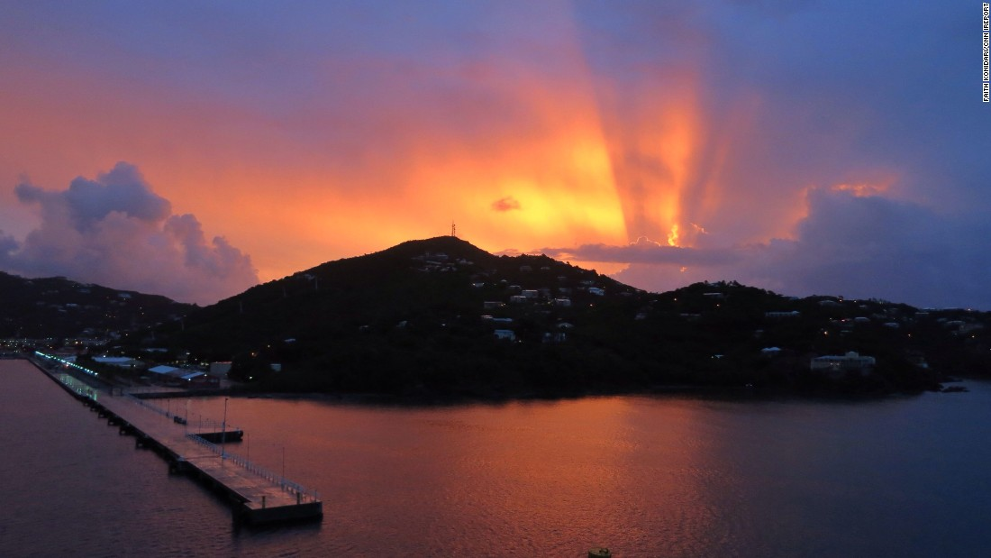 "St. Thomas is one of three Caribbean islands purchased by the United States from Denmark in 1917 to become the United States Virgin Islands. <a href=""http://ireport.cnn.com/docs/DOC-1220061"">iReporter Faith Konidaris</a>, her mother and her 11-year-old daughter visited St. Thomas on a Disney cruise in 2014. ""The local people of St. Thomas were very laid back, friendly and proud of their beautiful island,"" she wrote."