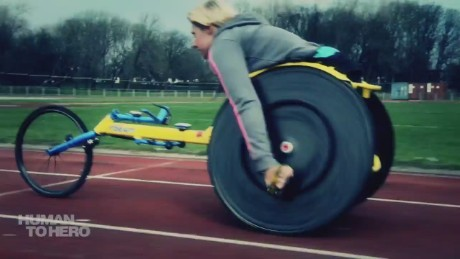 Wheelchair racer strives for Rio