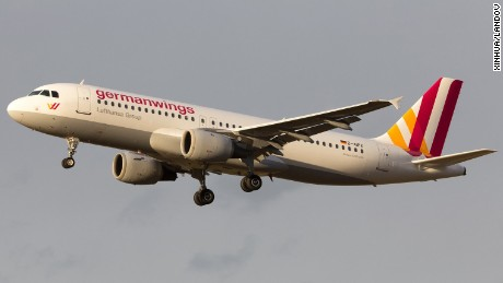 Image #: 35740687    (150324) -- BEIJING, March 24, 2015 (Xinhua) -- This undated file photo shows the Airbus A320 of the German airline Germanwings. An Airbus A320 of the German airline Germanwings crashed Tuesday in Alpes-de-Haute-Provence, Southern France, on March 24, 2015, BFMTV reported, citing a local police source. The ill-fated passenger jet with some 142 passengers and six crew members aboard was flying from Barcelona to Duesseldorf when the tragedy occurred. (Xinhua)       XINHUA/LANDOV