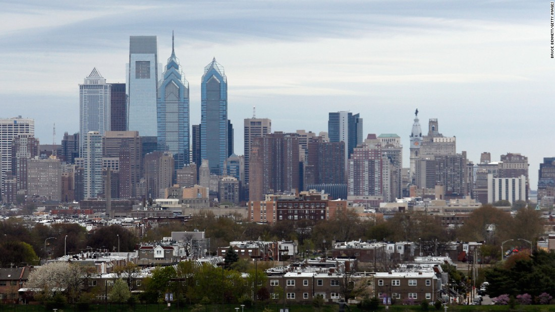 Philadelphia ranks third in Bloomberg's survey, with an average commute time of 31.5 minutes.
