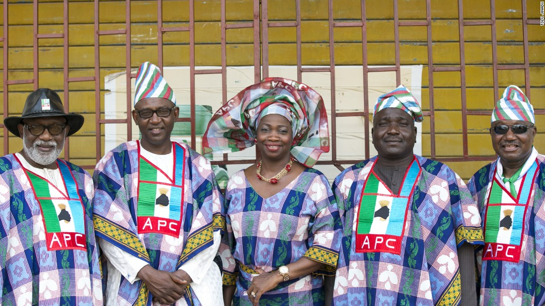 More APC supporters at the presidential rally, January 30.