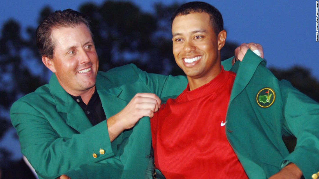 When Tiger Woods beat Chris Di Marco in a playoff to clinch a fourth Masters crown back in 2005, it was his ninth career major. It seemed unthinkable then that he'd go another 10 years without winning another green jacket, and in that time, all this has happened...