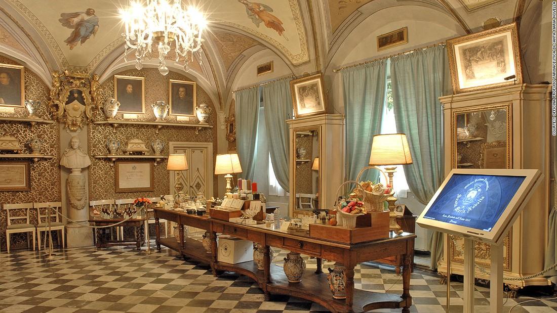 Santa Maria Novella, Florenceu0027s 600 Year Old Perfume Store | CNN Travel