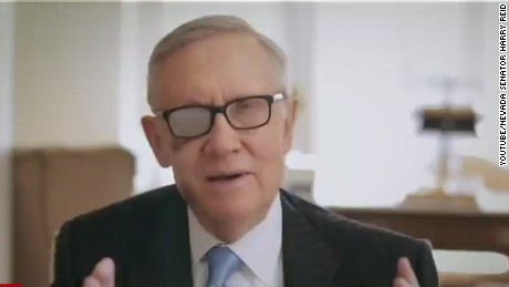 Senator Harry Reid won't seek re-election