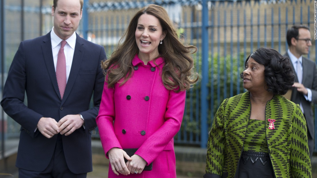 In March 2015, William and Catherine visit a center dedicated to community learning in London.