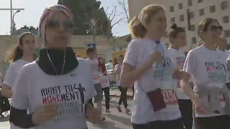 'Palestine Marathon' runners race for a statement