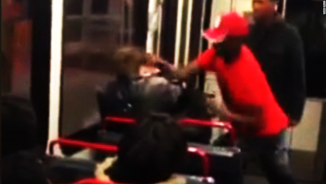 Question about Michael Brown leads to beating on St. Louis light rail train