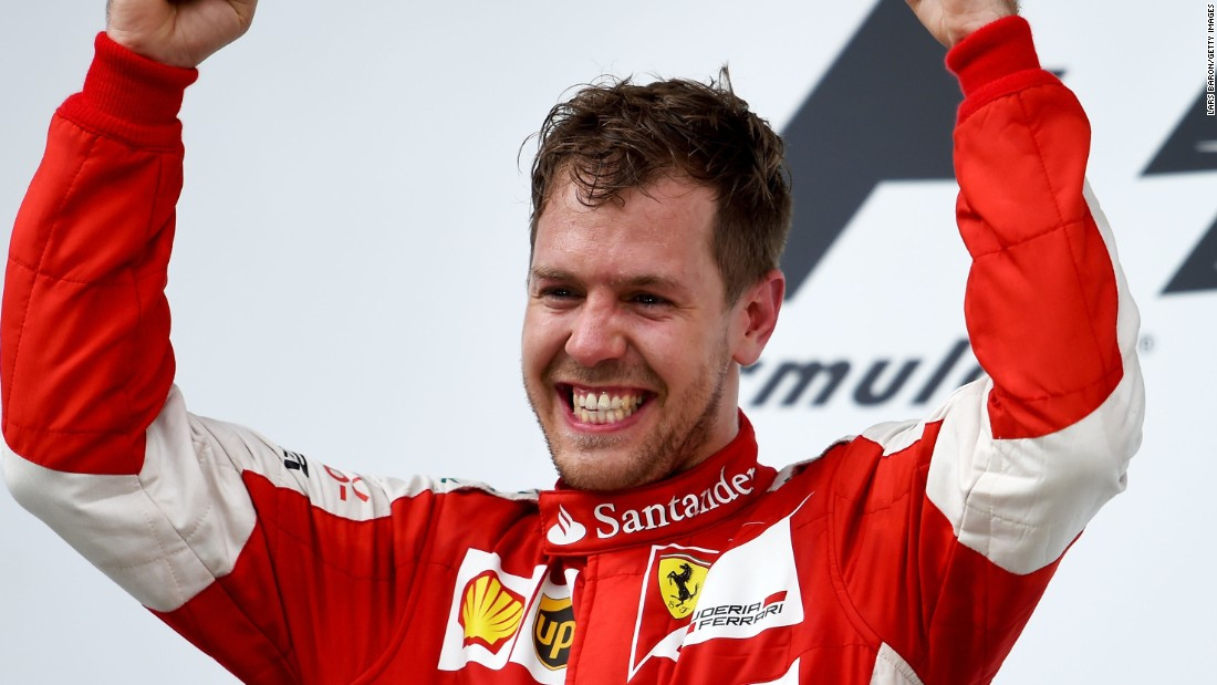 "Vettel won his first race since joining Ferrari as the four-time world champion <a href=""/2015/03/29/motorsport/motorsport-malaysiangp-hamilton-vettel/index.html"" target=""_blank"">triumphed at Sepang on March 29. </a>"