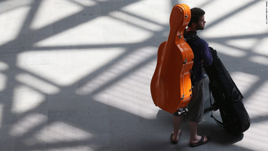 "<strong>A big musical instrument.</strong> <a href=""http://www.delta.com/content/www/en_US/traveling-with-us/baggage/before-your-trip/special-items.html"" target=""_blank"">While Delta Air Lines </a>allows passengers to bring a guitar, violin or smaller musical instrument as a free carry-on baggage item, larger instruments must be checked or get their own bulkhead or other special seats. Your cello must wear its own seat belt and can't block an exit."