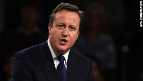 Positive economic numbers may help Cameron's campaign