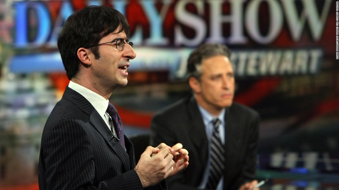 "British comedian John Oliver spent seven years on the show before leaving in 2014 to launch ""Last Week Tonight with John Oliver,"" a late-night talk show on HBO."