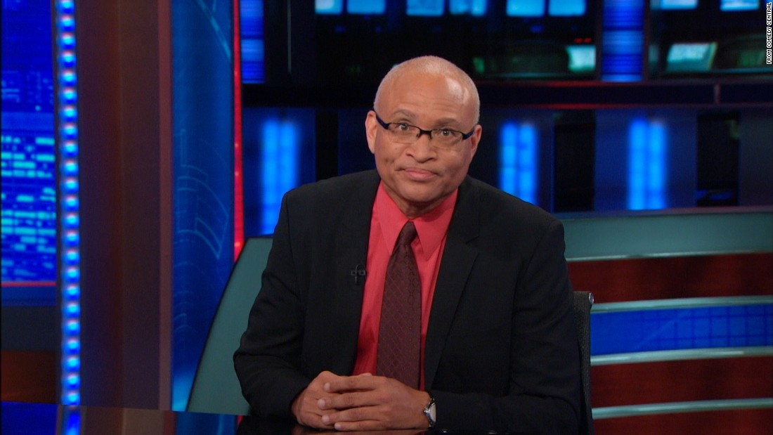 "Larry Wilmore was the show's ""senior black correspondent"" until he left to host ""The Nightly Show with Larry Wilmore,"" which premiered in January on Comedy Central."