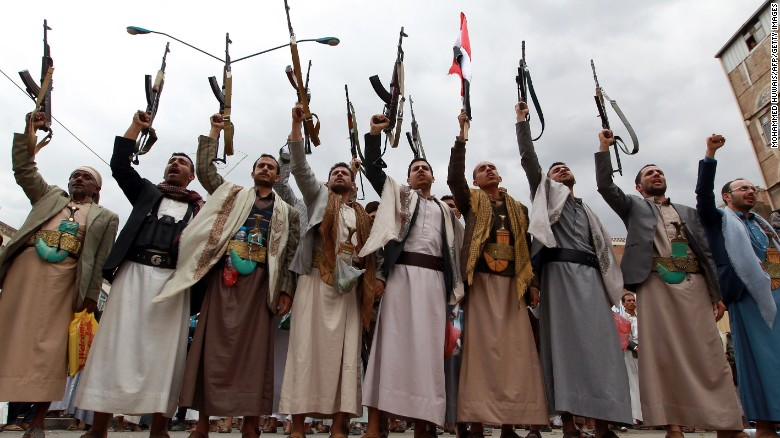 Four Americans held by Houthi rebels
